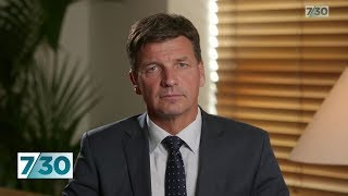 Energy Minister Angus Taylor defends the Snowy Hydro 2.0 project | 7.30