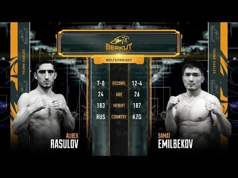 BYE 7: Алибег Расулов vs. Самат Эмильбеков   Alibeg Rasulov vs. Samat Emilbekov