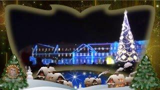 Зимняя сказка. Новогоднее световое шоу