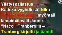 """Yllätyspaljastus: Niko Ranta-ahon sisko myöntää lämpimät välit Janne """"Nacci"""" Tranbergiin"""