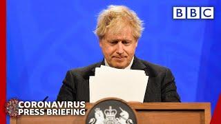 Boris Johnson announces plan for pills to treat Covid at home @BBC News live 🔴 BBC