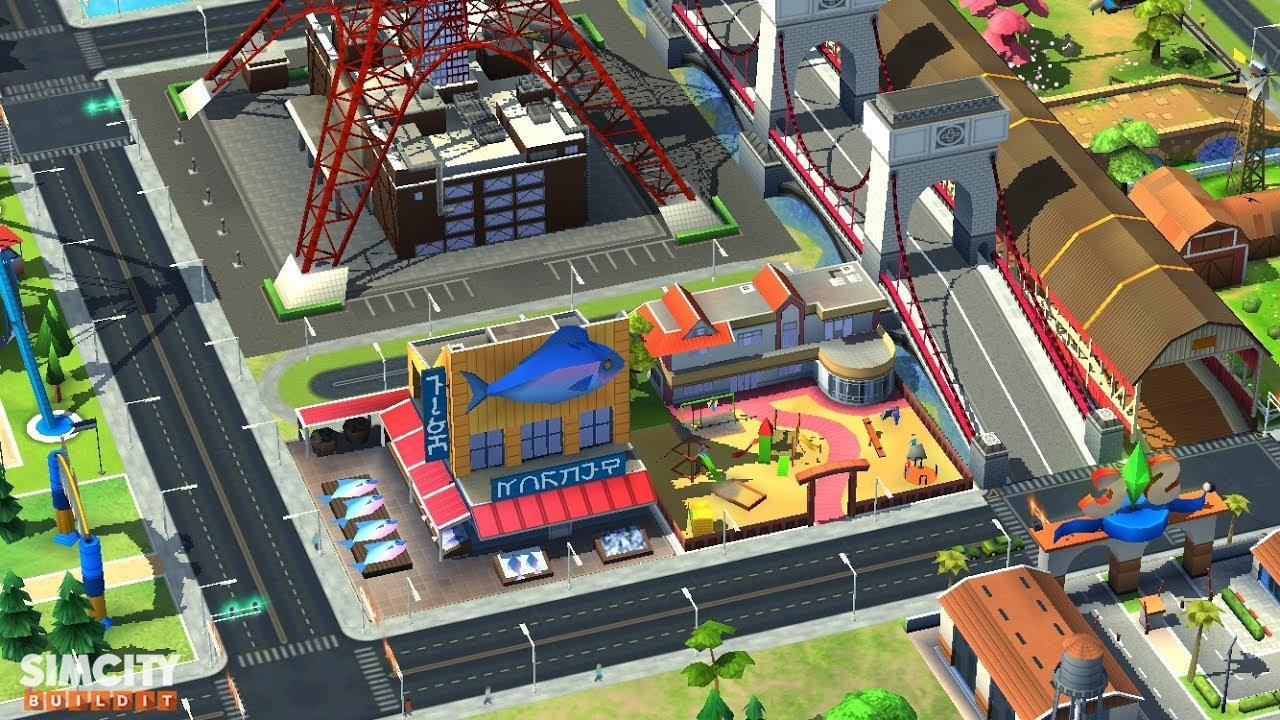 Simcity Buildit Tokyo Town | Best Mobile Games Reviews