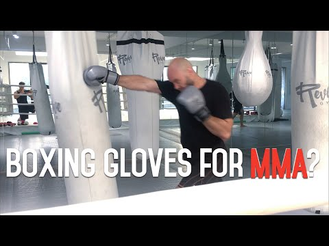 Should I Train In Boxing Gloves For MMA Competition?