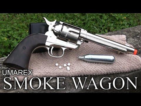 Airsoft Review of The Umarex Smoke Wagon Revolver - Elite Force/Legends