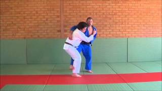 Defending a pickup - stopping the suplex and te guruma