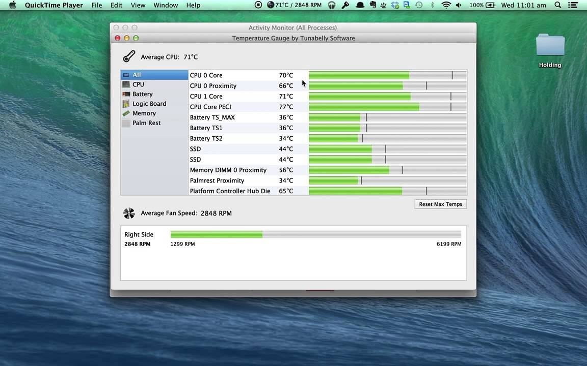 How To Monitor Temperatures On A Mac