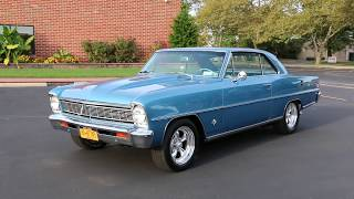 1966 Chevrolet Nova II SS For Sale~355 Chevy Small Block~Super T10 4 Speed~SUPER SPECIAL NOVA!!