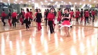 Red Is The Rose -line dance (사…
