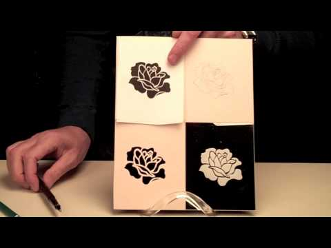 How To Make A Custom Glass Etching Stencil By Etchworld Youtube