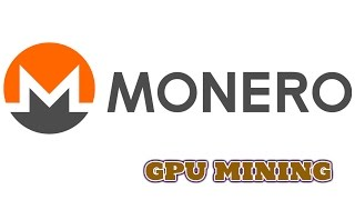 MONERO (XMR) - MINERAÇÃO PELA GPU - POOL DWARFPOOL