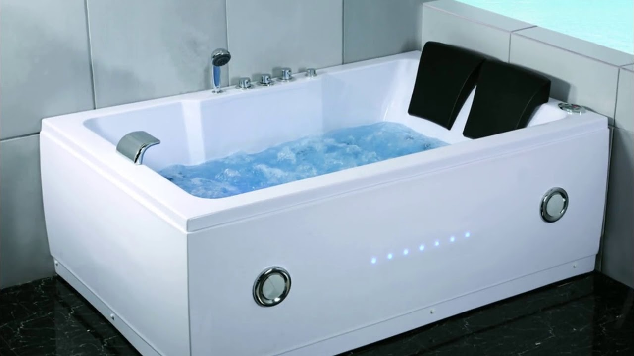 Two Person Hot Tub Bathroom Indoor - YouTube