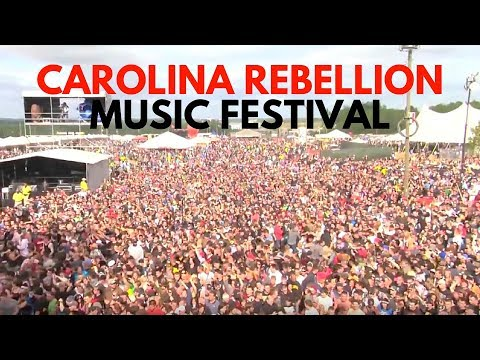 The people of Carolina Rebellion music festival!