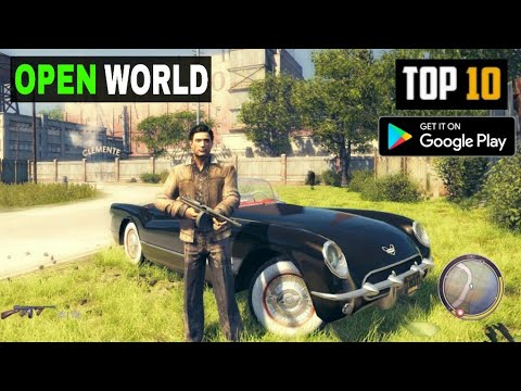 Top 10 OPEN WORLD GAMES For Android | High Graphics (Offline/Online) 2020