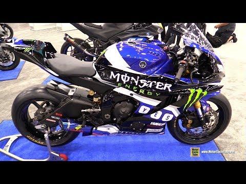 download 2018 Yamaha YZF-R6 Moto America Racing Bike - Walkaround - 2018 AIMExpo Las Vegas