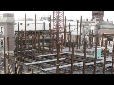 Harvard Art Museums Construction Time-Lapse