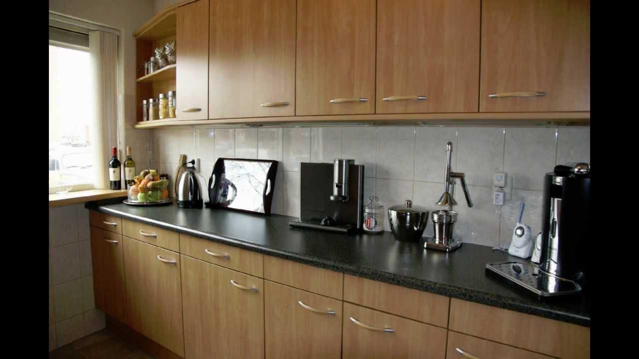 Keuken renoveren naar kersen met di noc fw wrappen vinyl