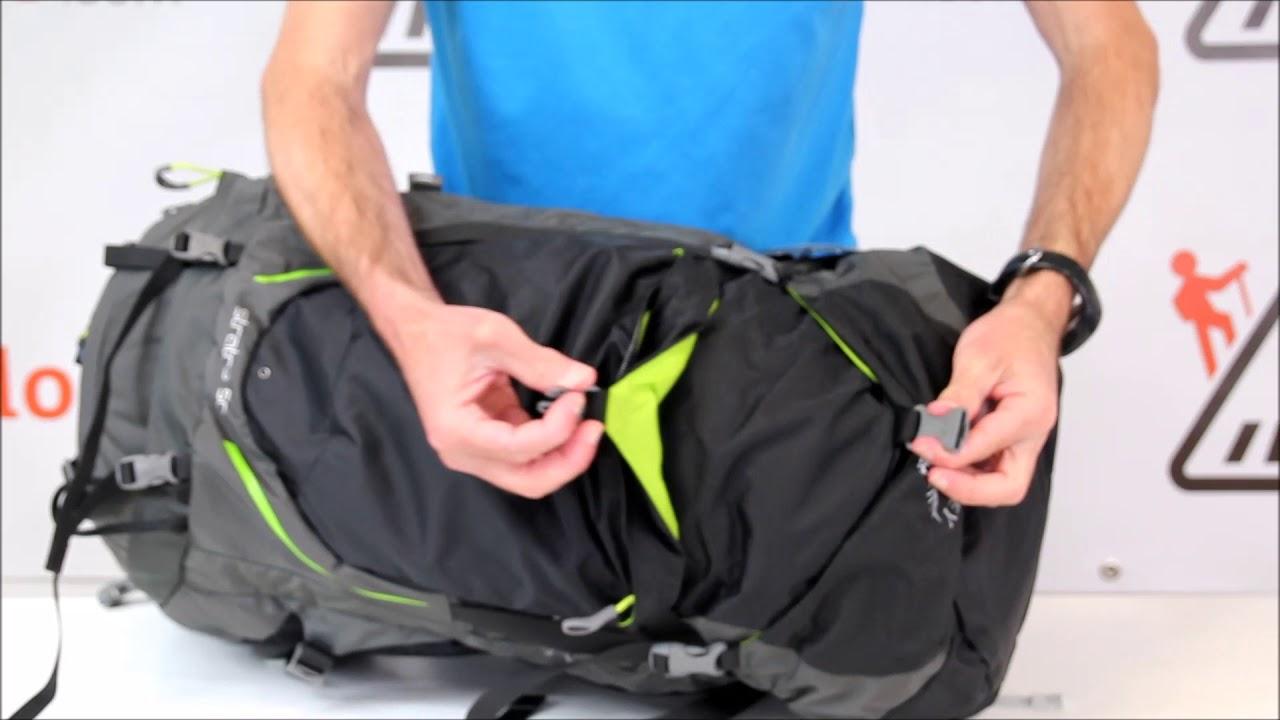 0dc79ff2e4260 RayonRando.com : Présentation du sac à dos Stratos 50 de Osprey ...