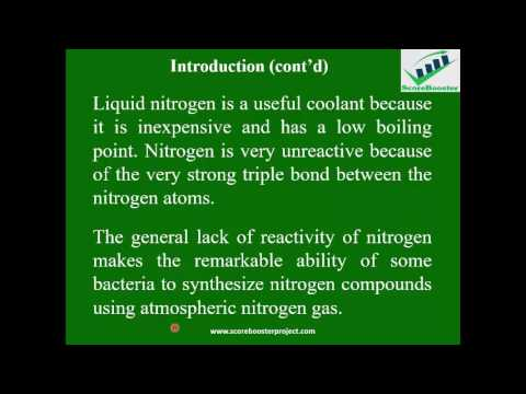 Students ScoreBooster in Chemistry- Nitrogen and Its compounds