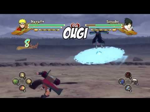 Naruto Ultimate Ninja Storm 3: Combo/Tilt Cancel Tutorial - NARUTO SAGE MODE