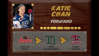 Katie Chan - BC-FAAA to CSSHL to NCAA D1 | Stand Out Sports Client Hall of Fame