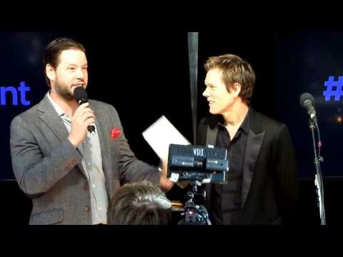 Kevin Bacon of 'The Following' @ Fox Fan Upfront Event Extravaganza 2013