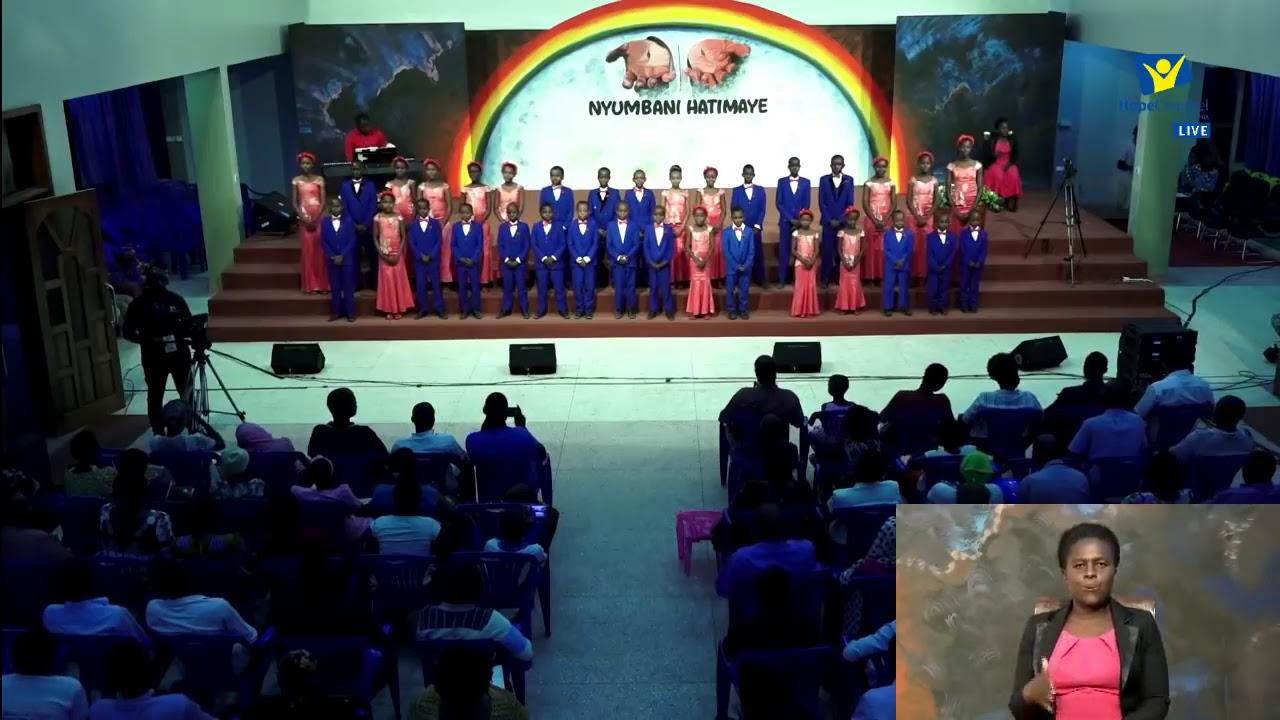Download The royal children's choir live performance at Kinyerezi Sda church NYUMBANI HATIMAYE