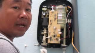 hướng dẫn lắp đặt máy tắm nước nóng Ferroli.Hướng dẫn lắp đặt máy tắm nước nóng hiệu Ferroli