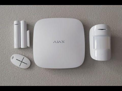 Сигнализация AJAX: монтаж и настройка