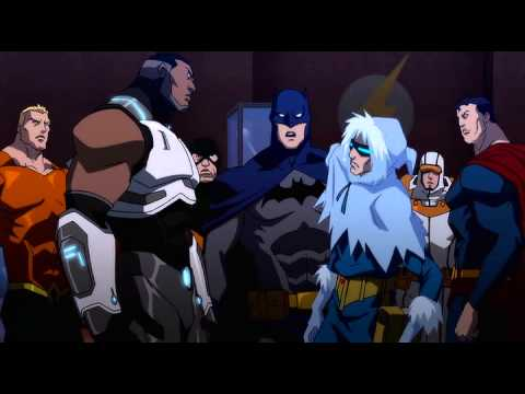 A sample of Justice League: The Flashpoint Paradox