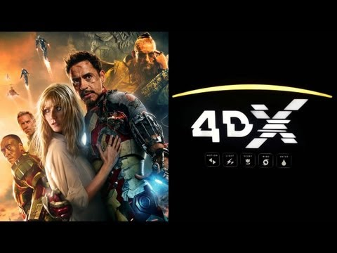 'Iron Man 3' Headed To 4th Dimension With 4DX