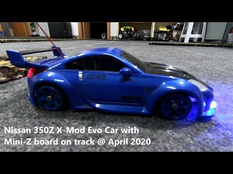 nissan-350z-x-mod-evo-car-with-mini-z-board-on-track-@-april-2020