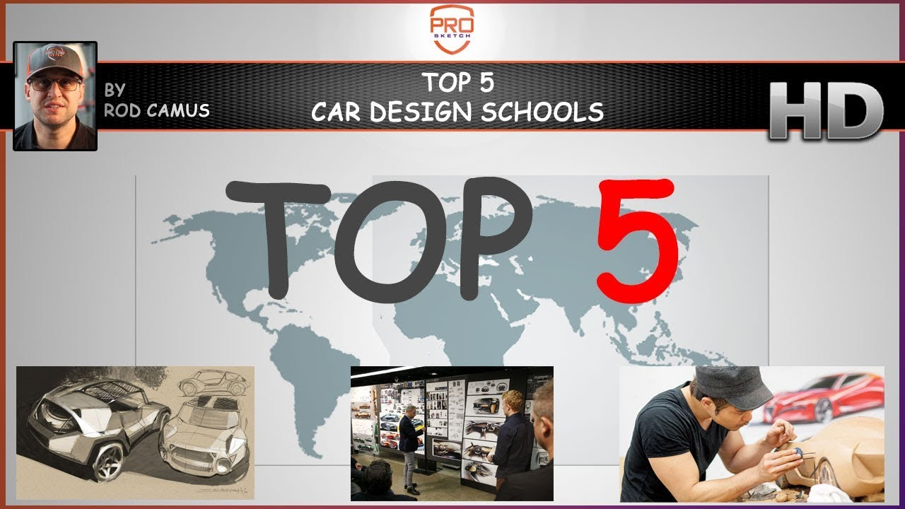 Top 5 Car Design Schools In The World 2018 Race Day Wednesday Youtube