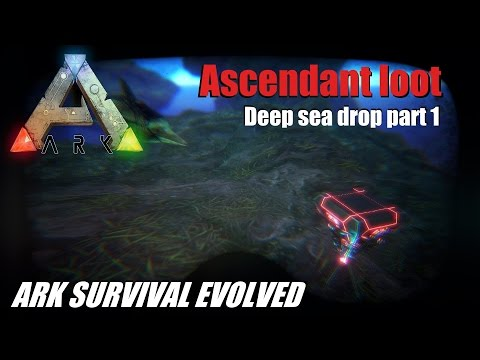 ARK Survival Evolved - Ascendant! Deep sea drop compilation (part.1)