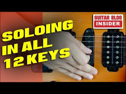 How to Start Soloing in all 12 Keys (30 DAY PLAN)
