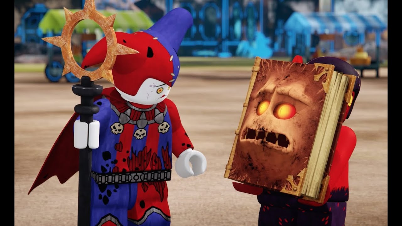 The Battle for Knighton - LEGO NEXO KNIGHTS - Webisode 1 - YouTube