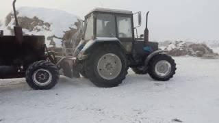 запуск трактора в мороз