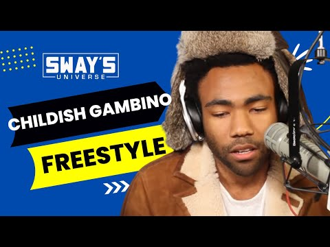 Childish Gambino Spits Dope Freestyle Over...