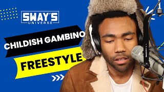"Childish Gambino Spits Dope Freestyle Over Drake's ""Pound Cake"" on Sway in the Morning"