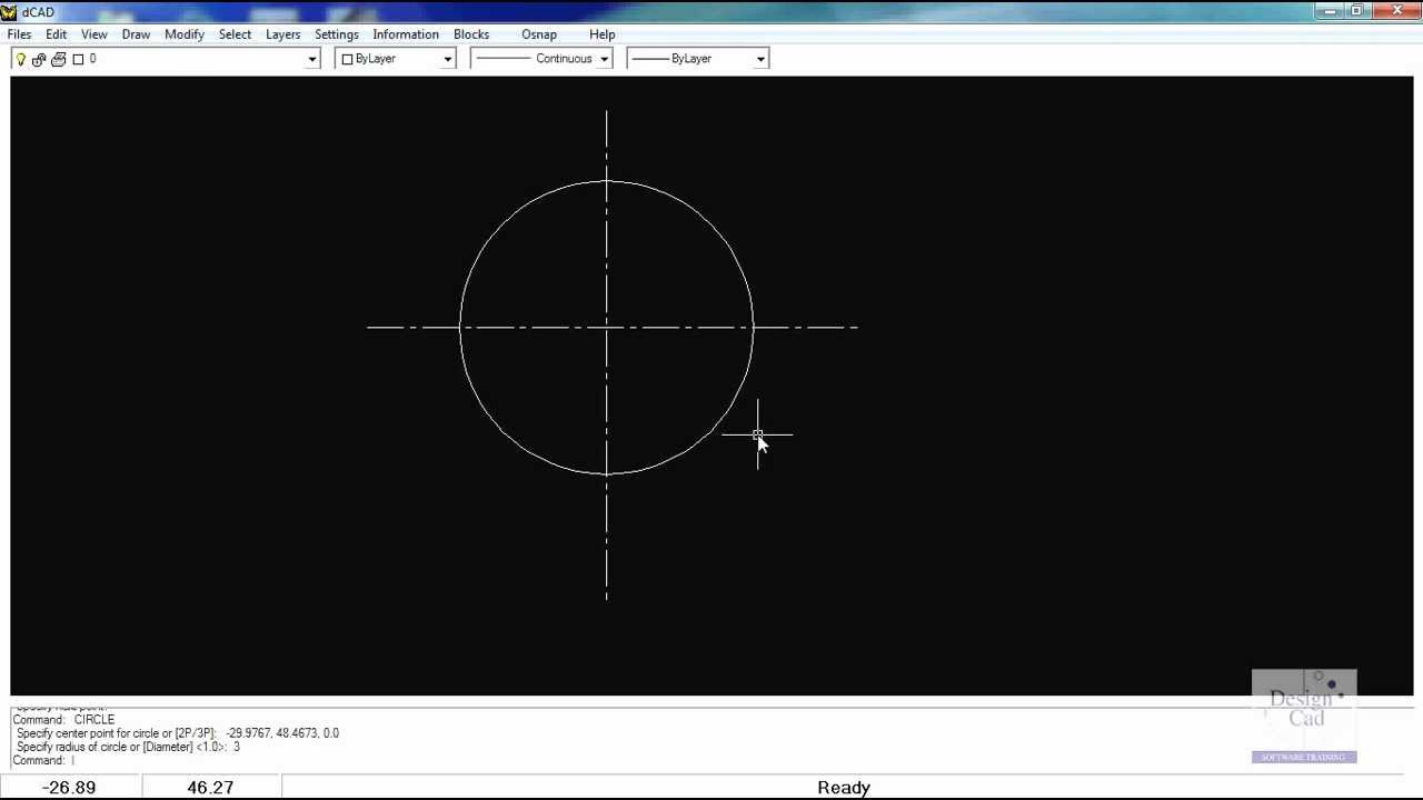 Drawing Lines In Microstation : Set a center line pattern and use the copy rotate