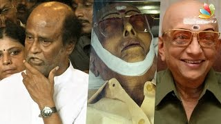 Rajinikanth speech at Cho Ramaswamy funerals