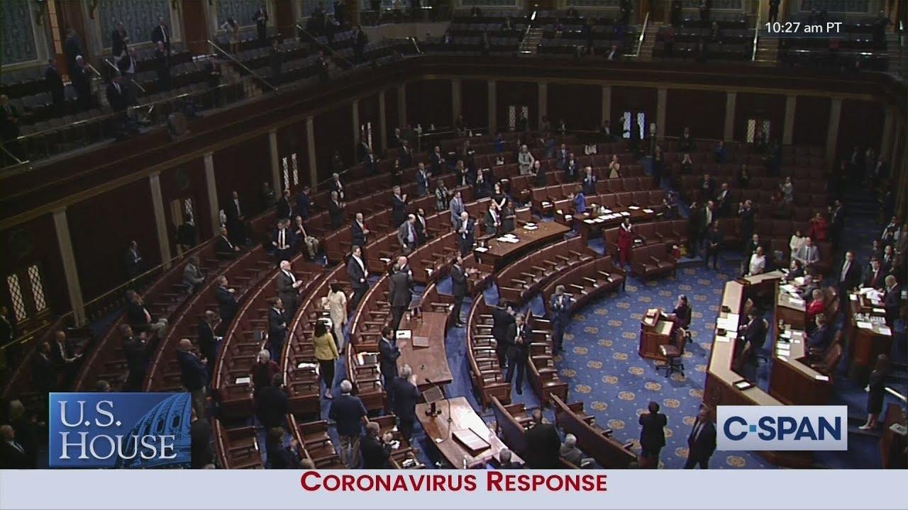U.S. House PASSES $2 Trillion Economic Aid Bill by Voice Vote.