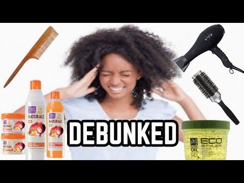 Natural Hair MYTHS DEBUNKED (Professionalism, Washing, Grease etc.)| Thee Mademoiselle ♔