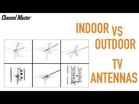 Channel Master | Indoor vs Outdoor TV Antennas +