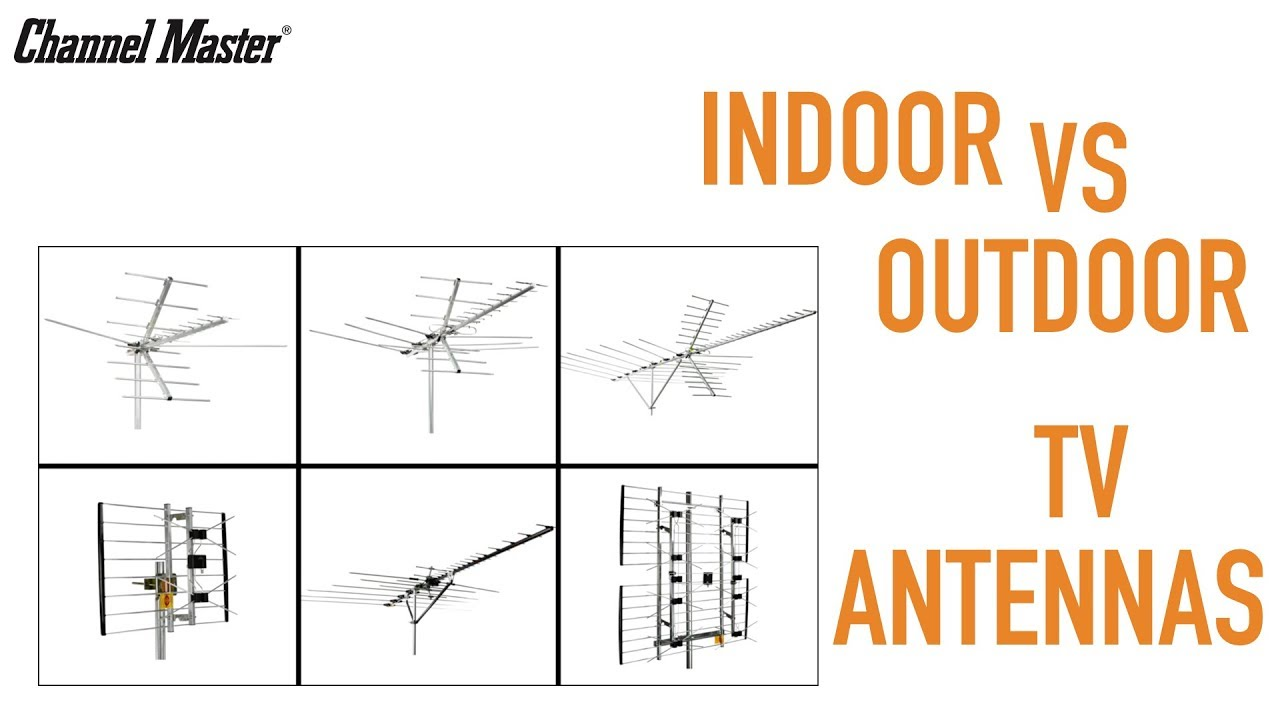 Channel Master Indoor Vs Outdoor Tv Antennas Installation Tips Information