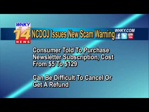 NC Residents Warned Of Online Scam Using Tobacco Settlement