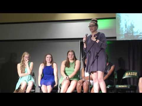 2016 George Mason Women's Basketball Hoops and Heels Q&A (Oct. 10, 2016)