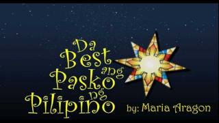 DA BEST ANG PASKO NG PILIPINO - Maria Aragon ABS-CBN Christmas Station ID 2011 HD