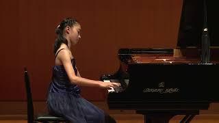 第50回 カワイピアノコンクール 全国大会 ソロ部門 大賞受賞 中国・四国地区代表 藤本 莉奈