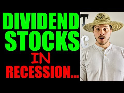 What Dividend Stocks Will Do In The Recession