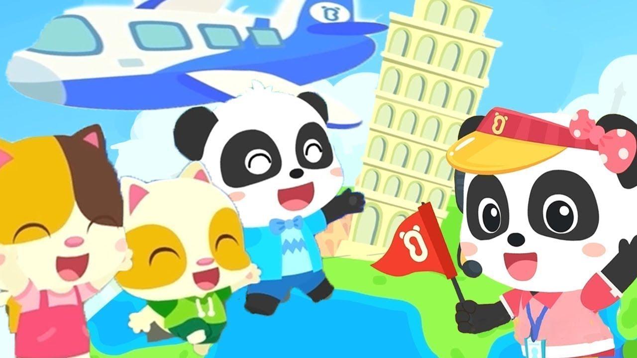Travel Around the World | Boo Boo Song | Nursery Rhymes | Kids Songs | Kids Cartoon | BabyBus